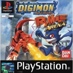 Digimon Rumble Arena - disk (PS1)