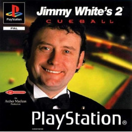 Jimmy Whites Cueball 2 - disk (PS1)