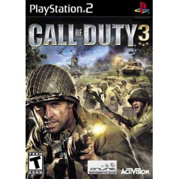Call of Duty 3 PLATINUM (PS2)