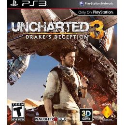 Uncharted 3 - disk (PS3)