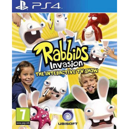 Rabbids Invasion The Interactive TV Show - disk (PS4)