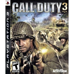 Call od Duty 3 - disk (PS3)