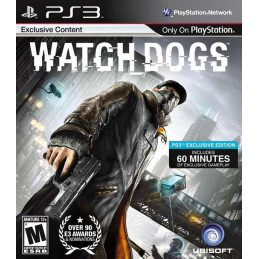 Watch Dogs - disk (PS3)