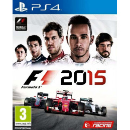 F1 2015 - disk (PS4)