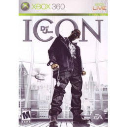 Def Jam Icon - disk (X360)